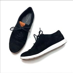 COLE HAAN | Black Oxford Style Sneakers Size 6